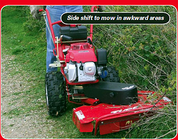 brush cutter for grass cutting awkward areas