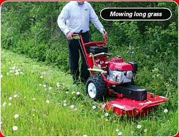 brush cutter for mowing long grass