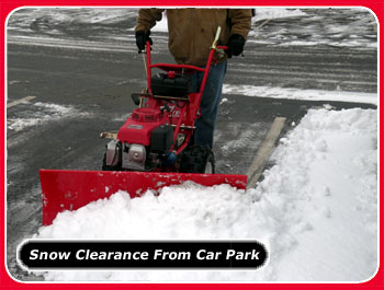 snow clearance from car park thumnail image