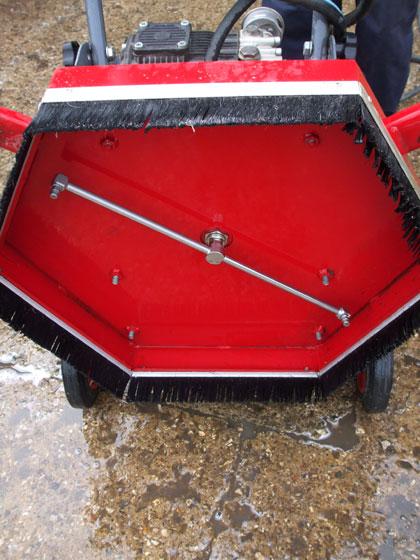 Power Walk Behind Pressure Washer Paving Amp Board Walk